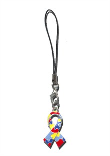 Autism Awareness Cell Phone Charm