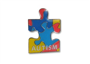Autism Puzzle Piece Lapel Pin