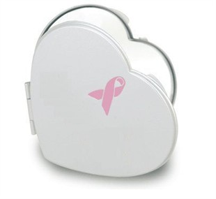 Breast Cancer Awareness Compact Mirror