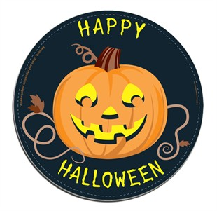 Happy Halloween Car Magnet