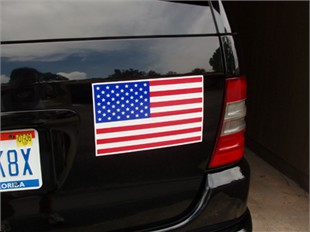 American Flag Car Magnet - 7&quot; x 12&quot;