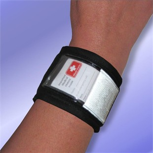 Sport ID Bracelet Velcro Strap