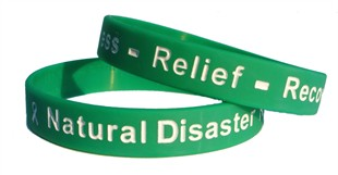 Natural Disaster Readiness - Relief - Recovery green - Adult 8&quot;