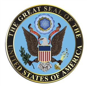 The Great Seal Of The United States of America Car Magnet