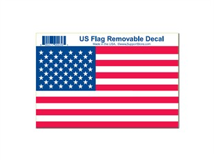 US Flag Decal - 4 X 6 inch